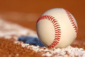 Baseball Close up photo