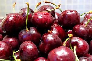 Cherries close-up