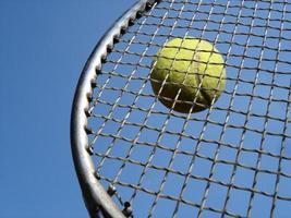 tênis de perto