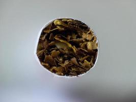 cigarrillo de cerca foto