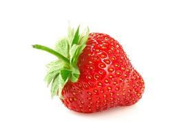 Ripe fresh strawberries. photo
