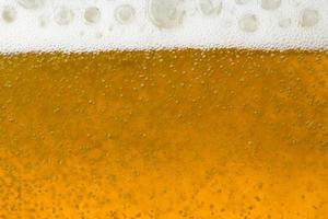 Close up on beer photo