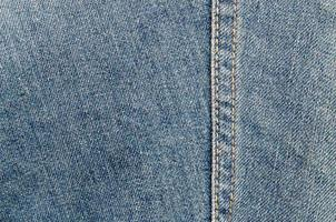 Close-up detailed jeans photo