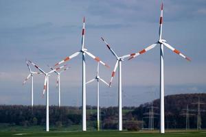 generador de energía eólica foto