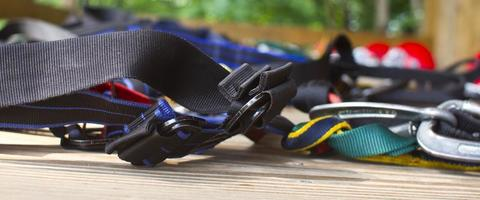Climbing Harness close up