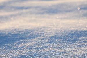 primer plano de la superficie de la nieve