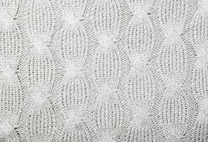 Knitted texture close-up