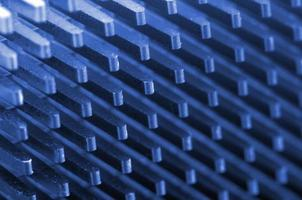 CPU cooler close up