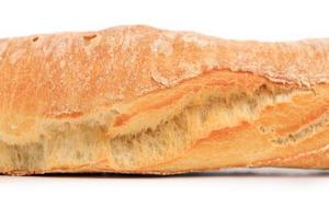 pan francés de cerca foto