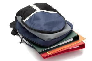school bag close up photo