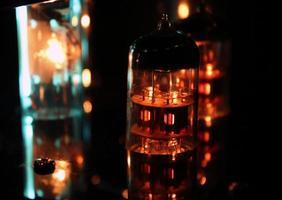 Valve Amplifier close up photo