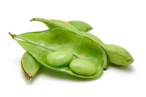 Close up of edamame