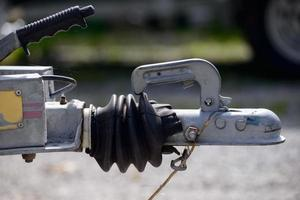 close-up trailer hook photo
