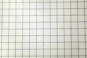 squared paper close up
