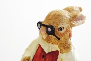 lapin de Pâques, gros plan