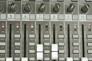 geluidskaart close-up