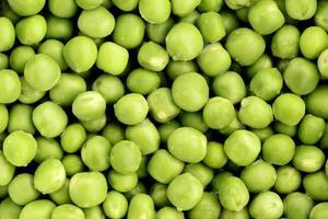 Peas Close Up