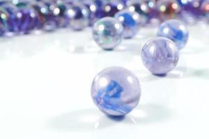 Marbles close-up views