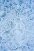 Ice. Close up.