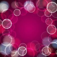 fuera de foco marco bokeh rosa y blanco