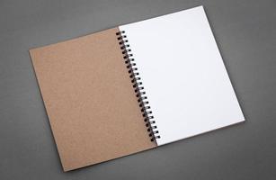 catálogo en blanco, folleto, revistas, maqueta de libros