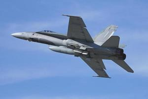 CF-18 in flight photo
