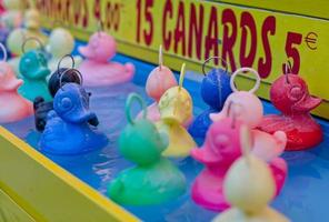 French fairground ducks