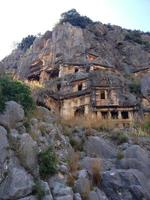 mountain tomb