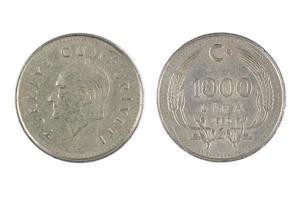 moneda de pavo foto