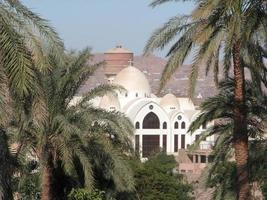 catedral ortodoxa copta del arcángel michael, aswan foto