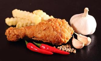pollo frito foto
