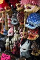 máscaras de carnaval foto