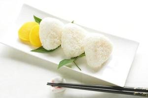 Japanese cuisine, rice ball Onigiri