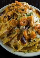 Cheesy nachos photo