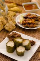 lemak lemang, comida malaya durante el festival de hari raya