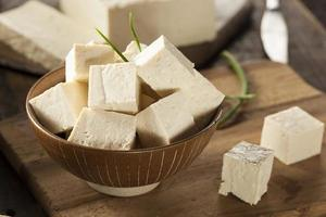 Organic Raw Soy Tofu photo