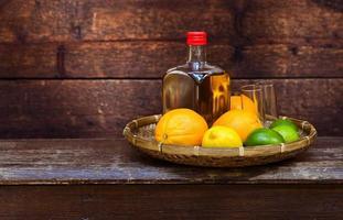 Tequila und Zitrusfrüchte