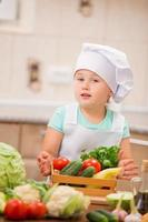 niño chef foto