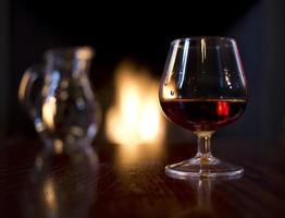whisky escocés de invierno foto