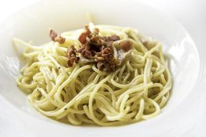 Spaghetti menu