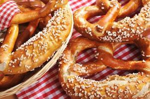 Bavarian pretzels photo
