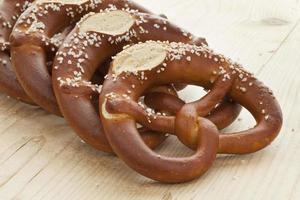 Fresh soft pretzels