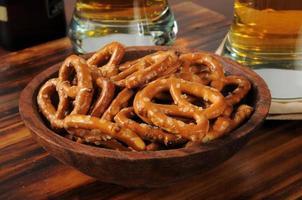 bowl of pretzels photo