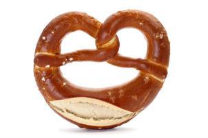 laugenbrezel, a german pretzel