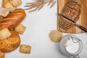 Bread Background photo