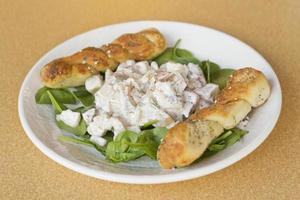 Potato Salad Spinach