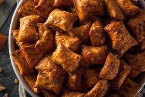biologische zoute pindakaas pretzel