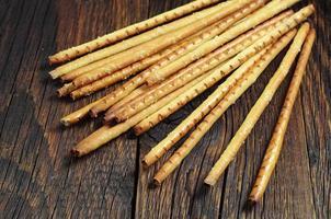 Heap bread sticks