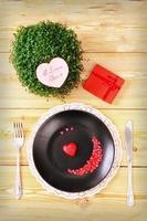 Valentine day menu