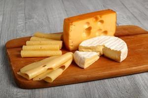 Cheese Assortments. Still Life.